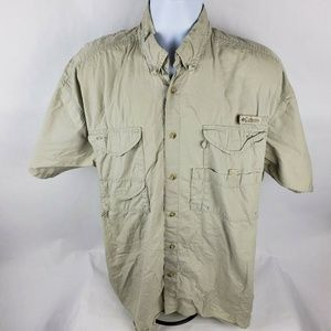 Columbia PFT Vented Fishing Button Front Shirt